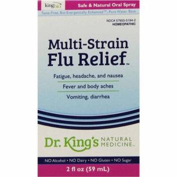King Bio Multi-Strain Flu Relief, 2 OZ