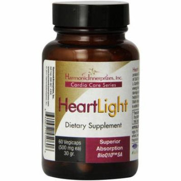 Harmonic Innerprizes HeartLight Vegetarian Capsules, 60 CT