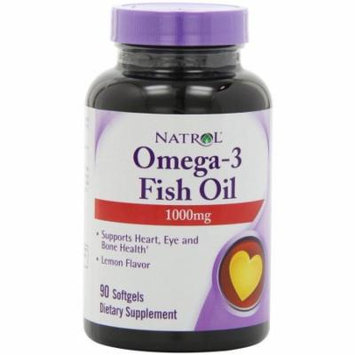 Natrol Omega-3 Purified Fish Oil, 90 CT