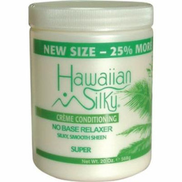 Hawaiian Silky creme conditioning NO BASE RELAXER SUPER 20oz