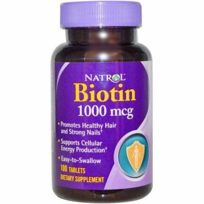 Natrol Biotin Tablets, 100 CT