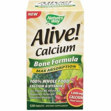 Nature's Way Alive Calcium Bone Formula, 120 CT