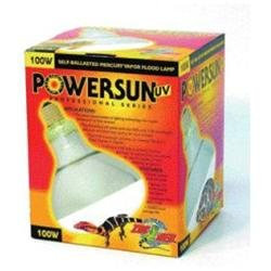 Zoo Med Laboratories Zml Bulb Powersun UV 100 Watt