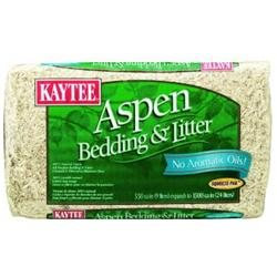 Topdawg Pet Supply Kaytee Aspen Bedding 1200 Cu In 6cs