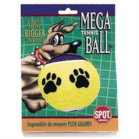 Ethical Dog Ethical Pet - Spot Jumbo Tennis Ball Dog Toy - 4 In