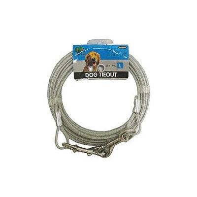 Booda Products Vinyl Tieout Clear 30 Feet - 3417030
