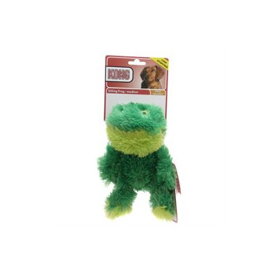 Kong Company Dr. Noys Sitting Frog Toy Small - NF3