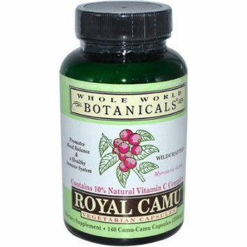 Whole World Botanicals Botanicals Herbs Royal Camu Veg Caps, 140 CT