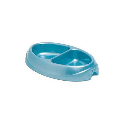 Doskocil Small Double Dish Ultra-Light Microban Pet Dish 23174