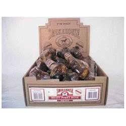 Smokehouse Brand Dog Treat Porky Bones Single Bone
