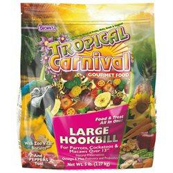 F.M. Browns Pet Bird Tropical Carnival Large Hookbill Food 5 Lb