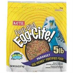 Forti-Diet Egg-Cite Bird Food Size: 5 Pound, Pet Type: Parakeet