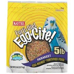 Forti-Diet Egg-Cite Bird Food Size: 5 Pound, Pet Type: Parakeet