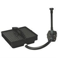 Badger Basket Pondmaster PMK1250 Pond Filter w/250gph Pump & Bonus Fountain Head