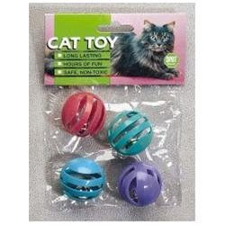 Ethical Cat Slotted Balls 4 Pack - 2848