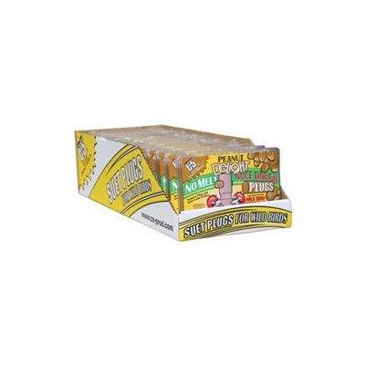 C & S Products Peanut Delight Suet Dough Plug 12 Ounces - CS12680
