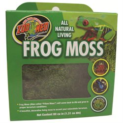 Zoo Med All Natural Terrarium Frog Moss: 80 Cu. Inches