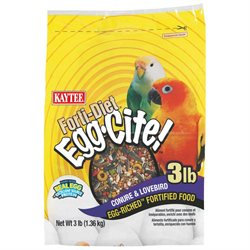Kaytee Products Inc - Forti-diet Egg-cite- Conure-lovebird 3 Pound