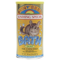 Sunseed Company 39213 Chinchilla Bath 32 Ounce