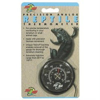 Zoo Med Laboratories Zml Thermometer Analog Reptile