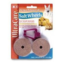 8 In 1 Pet Products Eight In One Trace Mineral Salt Wheel 3 Ounces - H388
