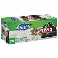 MINT-X MX3033B26DS Rodent Repellent Trash Bags,30 gal.,PK26 G2009010