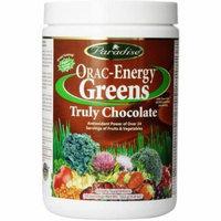 Paradise Herbs Orac-Energy Greens, Truly Chocolate, 6.4 OZ