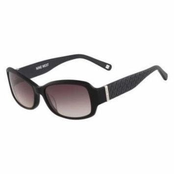 Nine West Sunglasses NW547S 001 Black 55 16