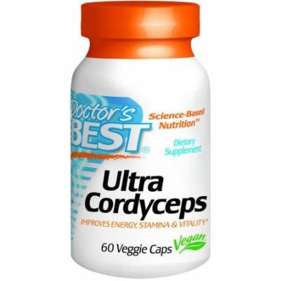 Doctor's Best Ultra Cordyceps, 60 CT
