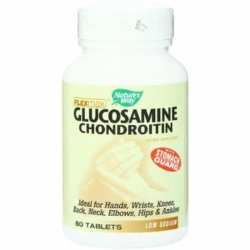 Nature's Way Flexmax Glucosamine Glucosamine Chondrotin, 80 CT