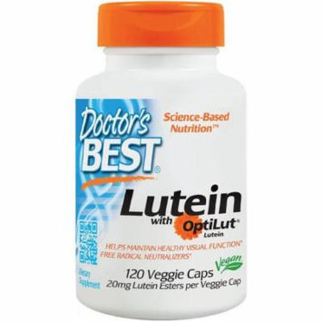Doctor's Best Lutein 20mg Lutein Esters, 120 CT