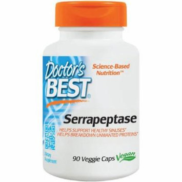 Doctor's Best Serrapeptase, 90 CT