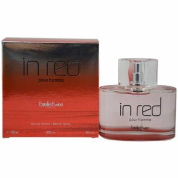 Estelle Ewen In Red Pour Homme for Men Eau de Toilette, 3.4 oz