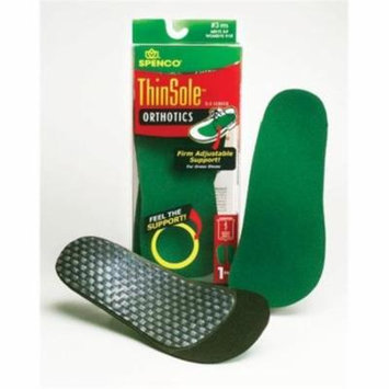 Complete Medical 433072 Spenco Thinsole Full Insole Size Women 7-8 Men 6-7