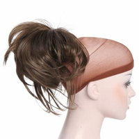 Onedor 12 Inch Adjustable Messy Style Ponytail Hair Extension with Jaw Claw (10#)