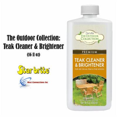 StarBrite 52416 The Outdoor Collection Teak Cleaner & Brightener 16oz Deck Clean