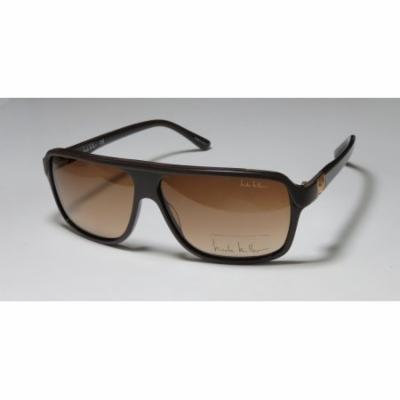 Nicole Miller Vandam 61-11-135 Brown / Gold Full-Rim Sunglasses