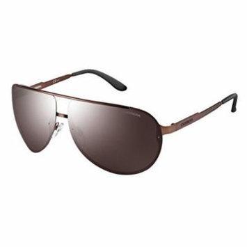 Carrera 102/S Sunglasses CA102S-0J8P-8G-6511 - Semi Matte Brown Frame, Brownsilvermirr Lenses,