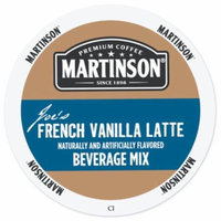 Martinson Cappuccino/Latte French Vanilla Latte, RealCup portion pack for Keurig K-Cup Brewers, 24 Count
