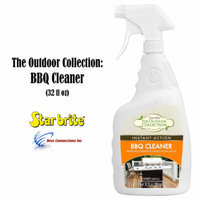StarBrite 57732 Instant Action BBQ Cleaner Bottle Spray 1 QT Cleans Grease Grime
