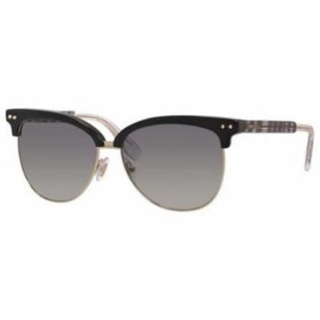 JIMMY CHOO Sunglasses ARAYA/S 0LYW Black 57MM
