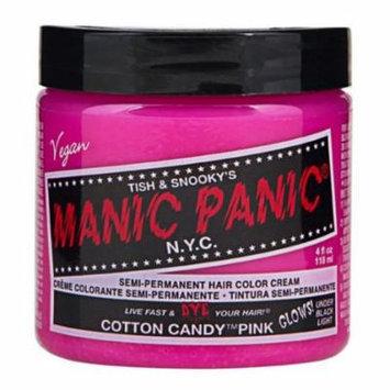 Cotton Candy Pink Manic Panic 4 Oz Hair Dye