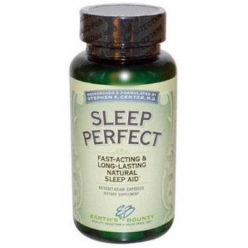 Earth's Bounty Sleep Perfect, Natural Sleep Aid, 60 CT