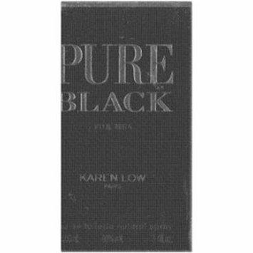 Karen Low Pure Black for Men Eau de Toilette, 3.4 oz