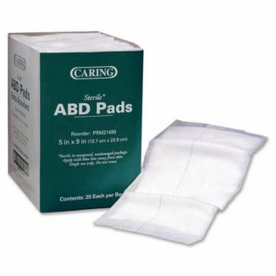 Medline Caring Non-Sterile Abdominal Pads PRM21451