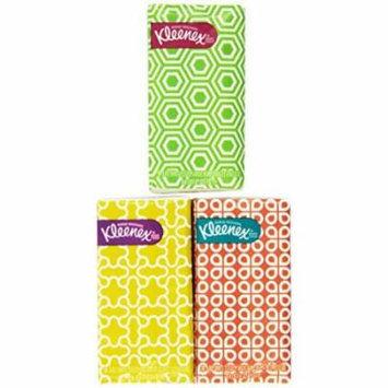 Kleenex® 3-Ply Pocket Packs Facial Tissues (8 packs of 10 tissues)
