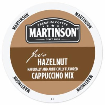 Martinson Cappuccino/Latte Hazelnut Cappuccino, RealCup portion pack for Keurig K-Cup Brewers, 24 Count