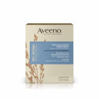 5 Pack NEW AVEENO ACTIVE NATURAL SOOTHING BATH TREATMENT FRAGRANCE