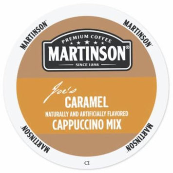Martinson Cappuccino/Latte Caramel Cappuccino, RealCup portion pack for Keurig K-Cup Brewers, 24 Count