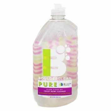 Boulder Cleaners - Cling Clean Gel Toilet Bowl Cleaner Bergamot Rosemary & Eucalyptus - 28 oz.
